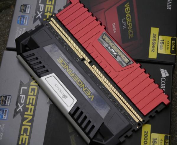 Мозговой штурм. Обзор двух наборов DDR4-памяти Corsair VENGEANCE LPX