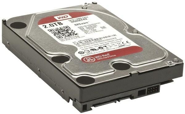 "Жесткий диск 3.5"" SATA   2TB WD Red WD20EFRX"