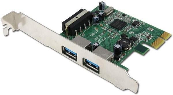Контроллер USB3.0 AgeStar U3E, PCI-Ex1, USB3.0, 2*Ext AF