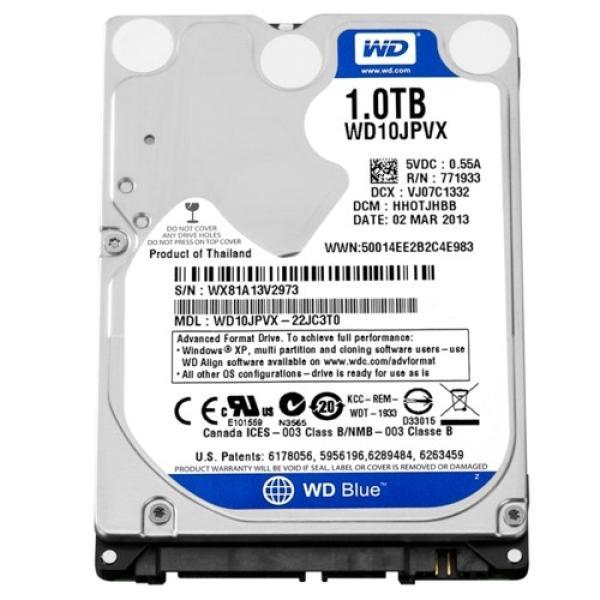 "Жесткий диск 2.5"" SATA 1TB WD Blue WD10JPVX"