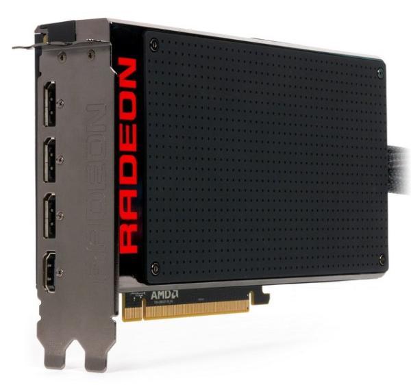 Видеоускоритель AMD Radeon R9 Fury X