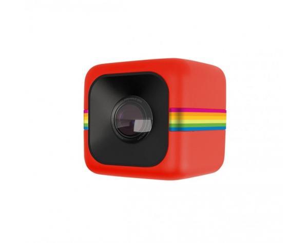 Экшн камера Polaroid Cube красная