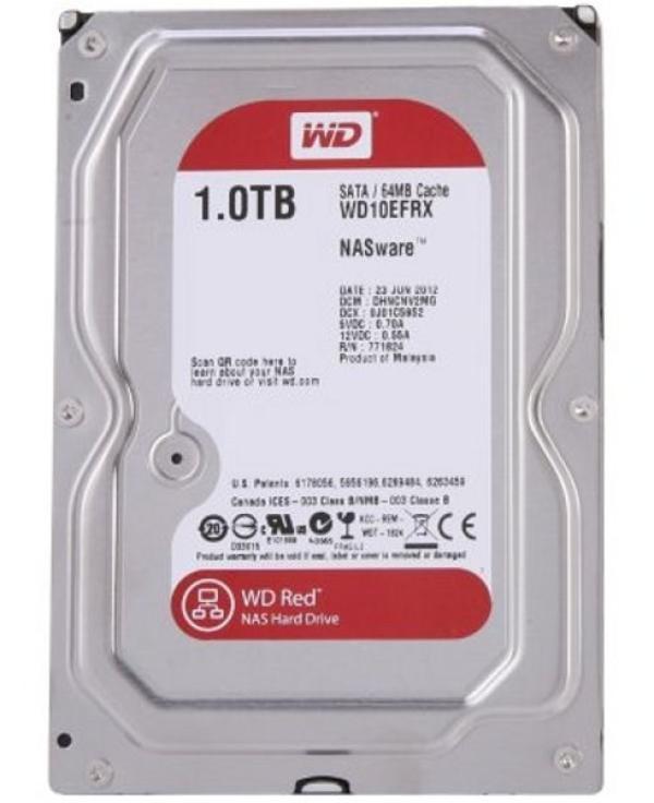 "Жесткий диск 3.5"" SATA 1TB WD Red WD10EFRX, SATAIII, IntelliPower, 64MB cache, AF"