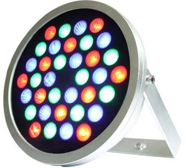 Прожектор светодиодный цветной RGB MaySun SD03-RGB