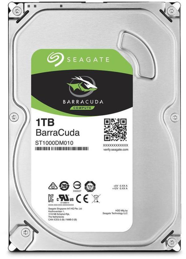 "Жесткий диск 3.5"" SATA   1TB Seagate Barracuda ST1000DM010"