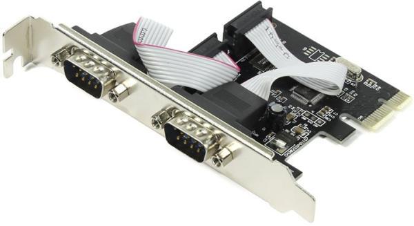 Контроллер RS232 Espada PCIe2SWCH, PCI-Ex1, 2*RS232