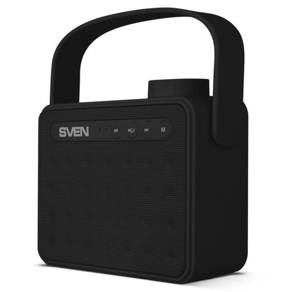 Колонки  Bluetooth  мобильные с MP3 плеером Sven PS-72