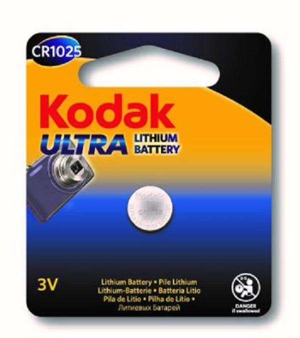 Батарейка CR1025 Kodak