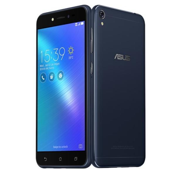 "Смартфон 2*sim ASUS ZenFone Live (ZB501KL-4A027A), 4*1.2ГГц, 32GB, 5"" 1280*720, SDHC-micro, 4G/3G, GPS, BT, WiFi, G-sensor, 2 камеры 13/5Мпикс, Android 6, 72*141*8мм, 120г, черный"