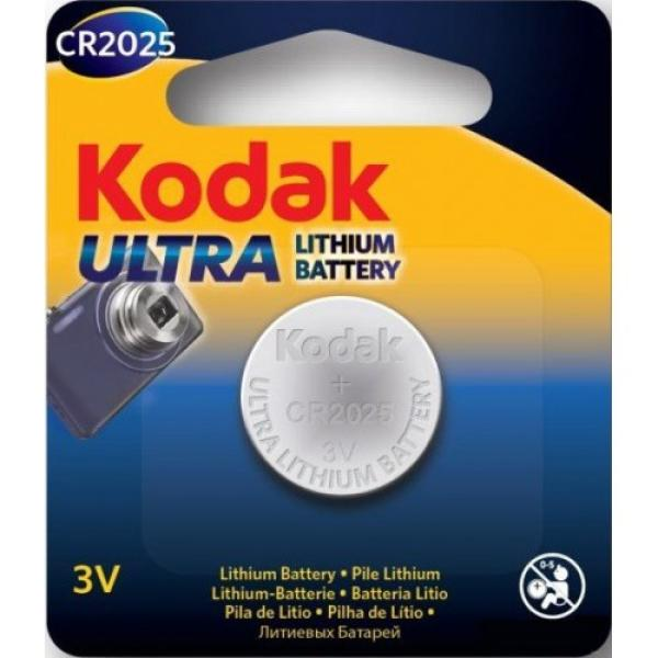 Батарейка CR2025 Kodak CR2025-5BL