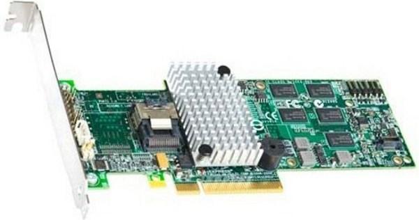 Контроллер SATA/SAS Intel RS2BL040, PCI-E2.0x8, 1*SFF-8087, 4*SAS 6Gb/s, 512MB, RAID 1 5 6 10 50 60, low profile