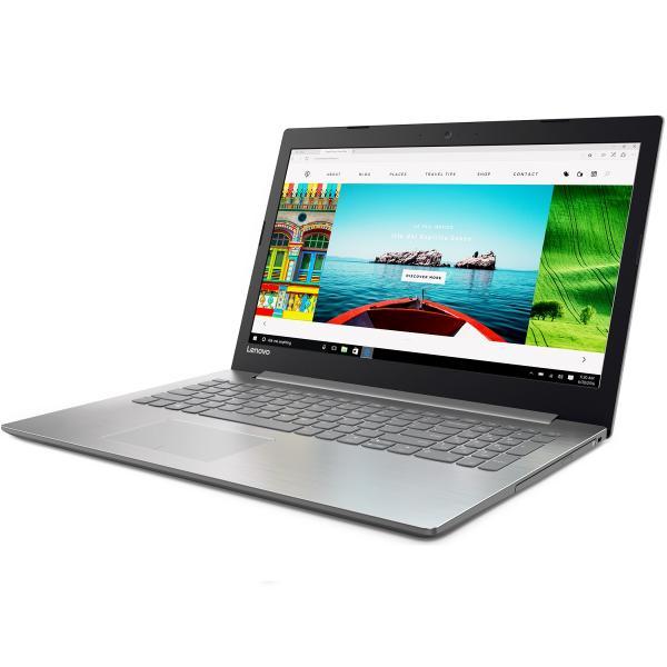 """Ноутбук 15"""" Lenovo Ideapad 320-15IKB (80XL01GPRK), Core i5-7200U 2.5 4GB 1Тб 1920*1080 GT940MX 2GB 2*USB3.0/USB3.1 LAN WiFi HDMI камера SD 2.1кг W10 серый"""