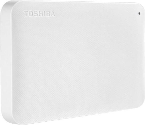 "Жесткий диск внешний 2.5"" USB3.0   500GB Toshiba HDTP205EW3AA, 5400rpm, microUSB B, компактный, белый"