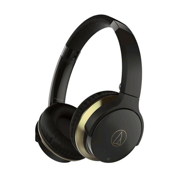 Наушники с микрофоном беспроводные BT дуговые закрытые AUDIO-TECHNICA ATH-AR3BTBK