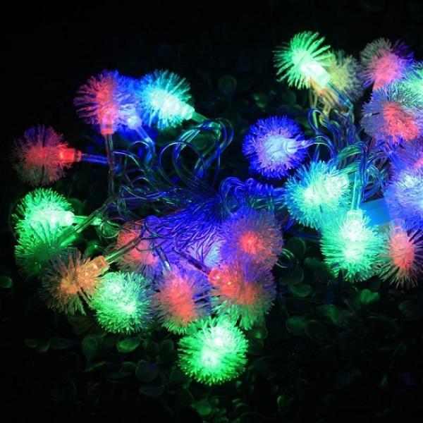 Гирлянда светодиодная LED Пушистики