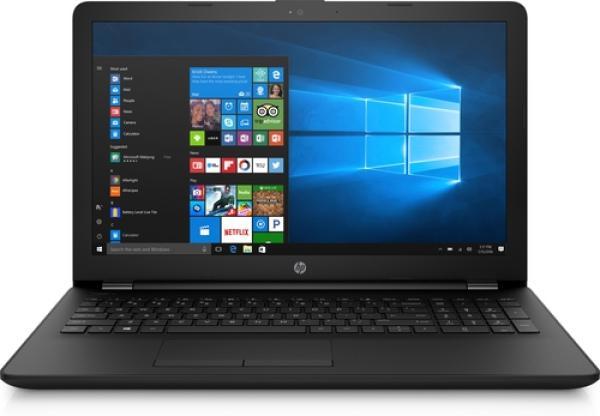"""Ноутбук 15"""" HP 15-bs164ur (4UK90EA), Core i3-5005U 2.0 4GB 1Тб DVD-RW USB2.0/2*USB3.0 LAN WiFi BT HDMI камера SD 1.92кг W10 черный"""