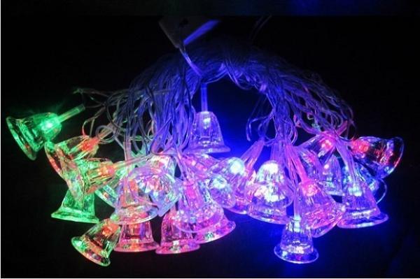 Гирлянда светодиодная LED Колокольчики