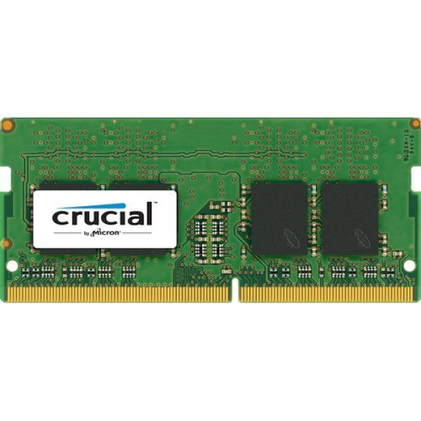 Оперативная память SO-DIMM DDR4  8GB, 2400МГц (PC19200) Crucial CT8G4SFS824A, 1.2В