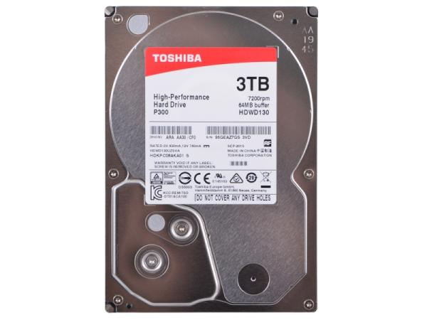 "Жесткий диск 3.5"" SATA  3TB Toshiba P300 HDWD130UZSVA"