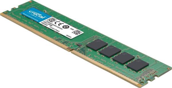 Оперативная память DIMM DDR4  8GB, 3200МГц (PC25600) Crucial CT8G4DFS832A