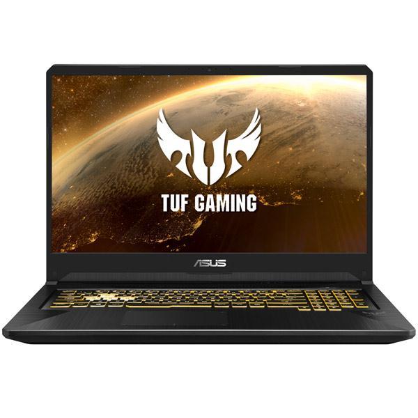 """Ноутбук 17"""" ASUS TUF Gaming FX705GE-EW170, Core i5-8300H 2.3 8GB 1Тб 1920*1080 IPS GTX 1050Ti 4GB USB3.0/USB2.0 LAN WiFi BT HDMI камера SD 2.7кг W10 черный"""