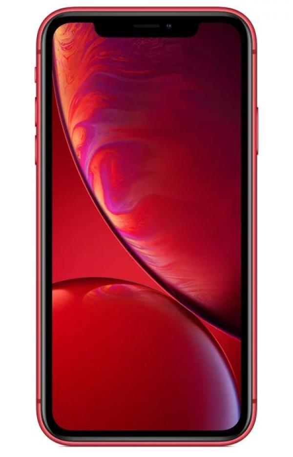 "Смартфон Apple iPhone XR (MRY62RU/A), Apple 6*2.4ГГц, 64GB, 3GB, 6.1"" 1792*828, 4G/3G, GPS, BT, WiFi, NFC, G-sensor, 2 камеры 12/7Мпикс, IP67, 75.7*150.9*8.3мм 194г, красный"