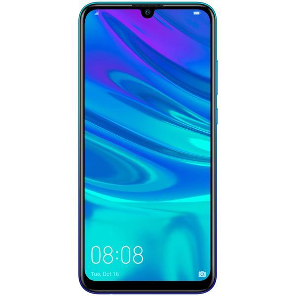 "Смартфон 2*sim Huawei P Smart 2019, Kirin 4*1.7+4*2.2ГГц, 32GB 3GB, 6.21"" 2340*1080, SDHC-micro, 4G/3G, GPS, BT, WiFi, NFC,3 камеры 13+2/16Мпикс, Android 8, 3400мАч, 73.4*155.2*7.95мм 160г, синий"