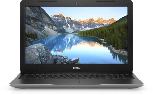 "Ноутбук 15"" Dell Inspiron 3582-7980, Pentium N5000 1.1 4GB 128GB SSD 1920*1080 2USB2.0/USB3.0 WiFi BT HDMI камера SD 2.2кг Linux серебристый"