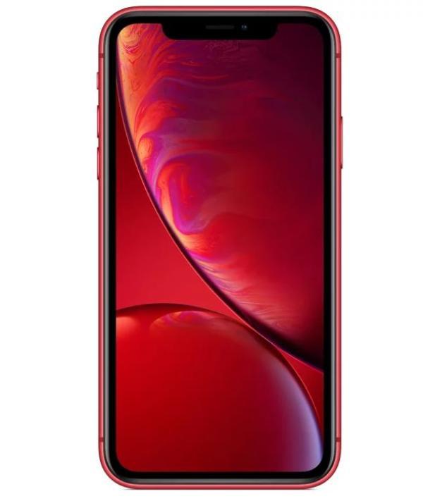 """Смартфон Apple iPhone XR (MRYE2RU/A), Apple 6*2.4ГГц, 128GB, 3GB, 6.1"""" 1792*828, 4G/3G, GPS, BT, WiFi, NFC, G-sensor, 2 камеры 12/7Мпикс, IP67, 75.7*150.9*8.3мм 194г, красный"""