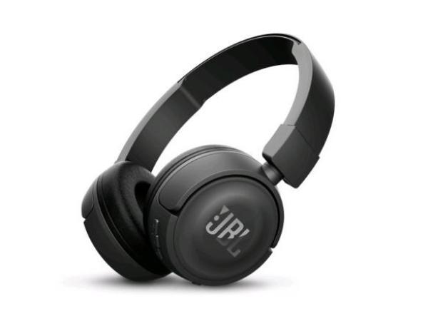 Наушники с микрофоном беспроводные BT дуговые закрытые JBL T450BT
