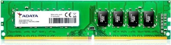 Оперативная память DIMM DDR4 16GB, 2400МГц (PC19200) A-Data AD4U2400316G17-S