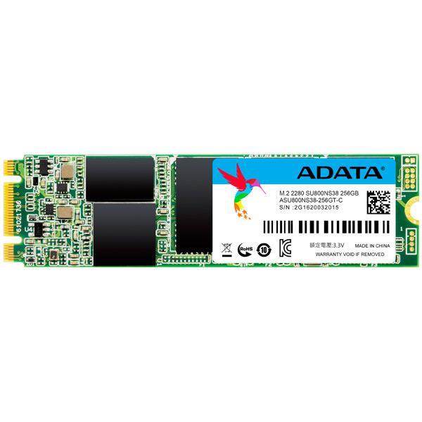 Накопитель SSD M.2  256GB A-Data Ultimate SU800 (ASU800NS38-256GT-C)