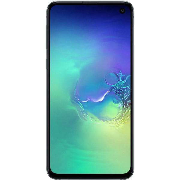 "Смартфон 2*sim Samsung Galaxy S10e (SM-G970FZGDSER), Samsung 8*2.3ГГц, 128GB 6GB, 5.8"" 2280*1080, SD-micro, 4G, GPS, NFC, 3 камеры 12+16/10Мпикс, 3100мАч, Android 9, 70*142*7.9мм 150г, аквамарин"