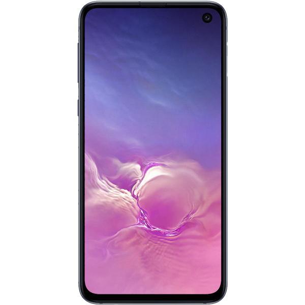 "Смартфон 2*sim Samsung Galaxy S10e (SM-G970FZKDSER), Samsung 8*2.3ГГц, 128GB 6GB, 5.8"" 2280*1080, SD-micro, 4G, GPS, BT, NFC, 3 камеры 12+16/10Мпикс, 3100мАч, Android 9, 70*142*7.9мм 150г, черный"