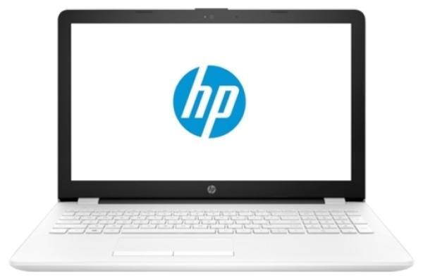 """Ноутбук 15"""" HP 15-db0176ur (4MK72EA), AMD A6-9225 2.6 4GB 500GB AMD 520 2GB USB2.0/2*USB3.0 LAN WiFi BT HDMI камера SD 2.1кг DOS белый"""