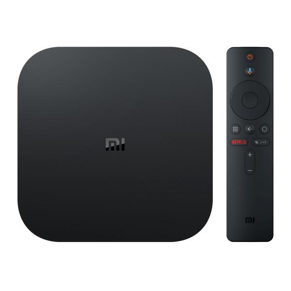 Медиа проигрыватель Xiaomi Mi Box S, 4K UHD, 4 ядра Cortex-A53, 2/8 Гб, USB2.0/HDMI2.0, Wi-Fi/BT, Android 8.1, голосовое управление, черный