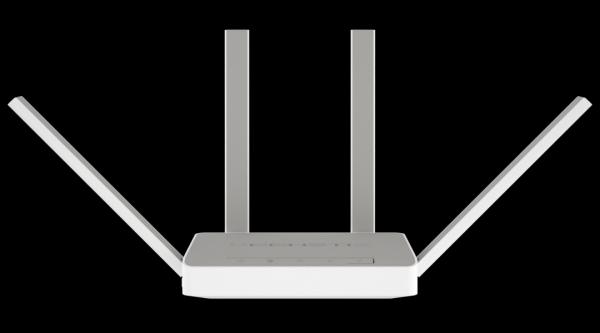 Маршрутизатор WiFi Keenetic EXTRA KN-1710, 4*RJ45 LAN 100Мбит/с, 1*RJ45 WAN 100Мбит/с, 802.11n 300Мбит/с, 2.4ГГц, 802.11ac 867Мбит/с, 5ГГц, 1*USB2.0, 3G/4G, принт-сервер