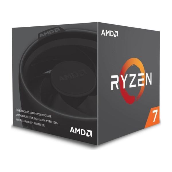 Процессор AM4 AMD RYZEN 7 2700 3.2ГГц, 8*512KB+2*8MB, Pinnacle Ridge, 0.012мкм, Eight Core, SMT, Dual Channel, 65Вт, BOX