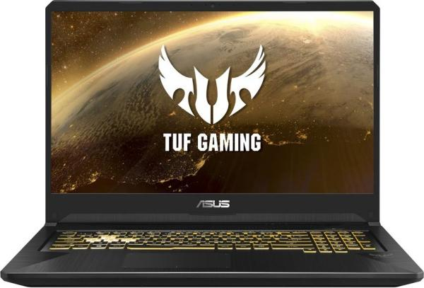 """Ноутбук 17"""" ASUS TUF Gaming FX705DT-AU131T, Ryzen 5 3550H 2.1 8GB 1TB+256GB SSD 1920*1080 IPS GTX1650 4GB USB3.0/USB2.0 LAN WiFi BT HDMI камера SD 2.7кг W10 серый-золотистый"""