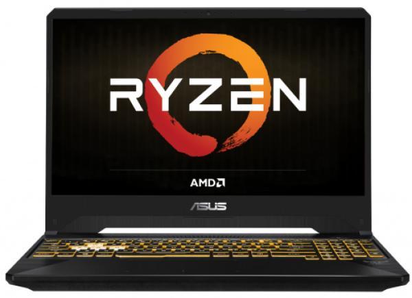 """Ноутбук 15"""" ASUS TUF Gaming FX505DD-BQ293, Ryzen 7 3750H 2.3 16GB 512GB SSD 1920*1080 IPS GTX1050 3GB 2*USB3.0/USB2.0 LAN WiFi BT HDMI камера SD DOS черный"""