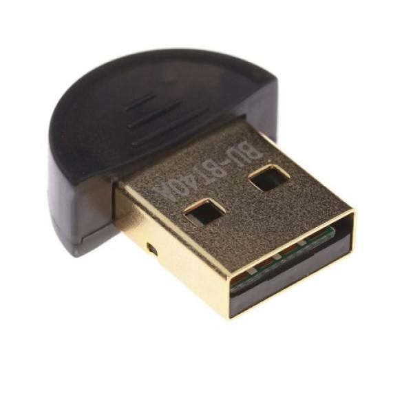 Контроллер Bluetooth 4.0+EDR Buro BU-BT40A, USB2.0, до 20м, черный