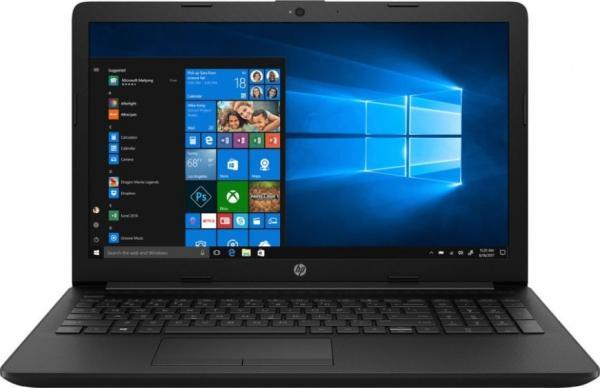 """Ноутбук 15"""" HP 15-db1028ur (6RK64EA), AMD Ryzen 5 3500U 2.1 4GB 256GB SSD 1920*1080 Vega 8 USB2.0/USB3.0 LAN WiFi BT HDMI камера SD 2.04кг W10 черный"""