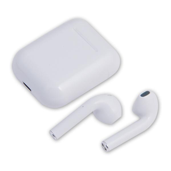 Наушники с микрофоном беспроводные BT вставные Belsis I11(BE1205), TWS, Bluetooth 5.0, чехол, 5ч, белый