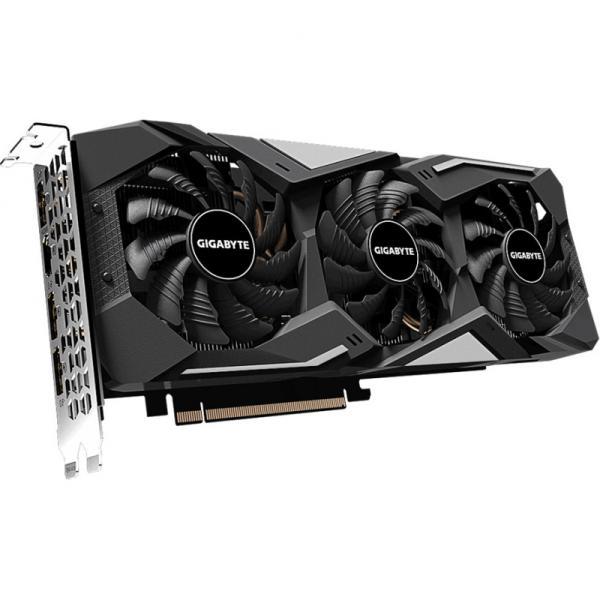Видеокарта PCI-E GeForce GTX1660 SUPER GIGABYTE GV-N166SGAMING-6GD, 6GB GDDR6 128bit 1530/14000Гц, PCI-E3.0, HDCP, 3*DisplayPort/HDMI, 120Вт
