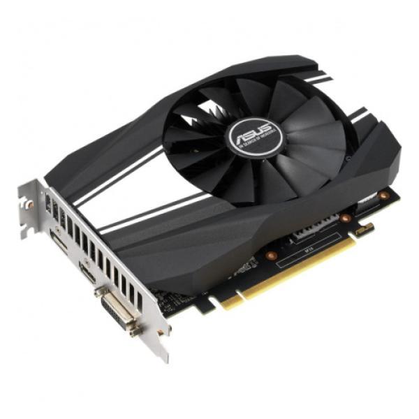 Видеокарта PCI-E GeForce GTX1660 SUPER ASUS PH-GTX1660S-6G, 6GB GDDR6 192bit 1530/14000Гц, PCI-E3.0, HDCP, DisplayPort/DVI/HDMI, 125Вт
