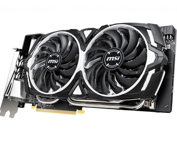 Видеокарта PCI-E GeForce GTX1660 SUPER MSI VENTUS XS OCV1, 6GB GDDR6 192bit 1815/14000Гц, PCI-E3.0, HDCP, DisplayPort/DVI/2*HDMI, 125Вт