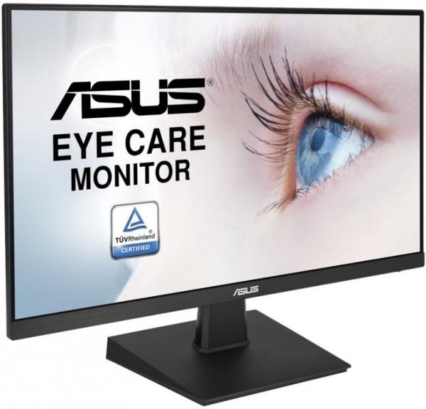 """Монитор ЖК 27"""" ASUS VA27EHE, 1920*1080 LED, 75Гц, 16:9, 250кд, DC 100000000:1, 5мс, IPS, 178/178, HDMI, HDCP, черный"""