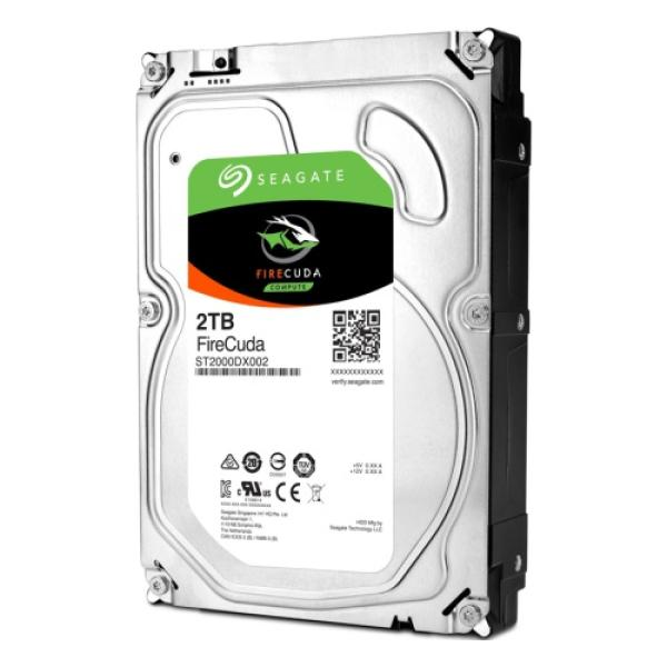 "Жесткий диск 3.5"" SATA   2TB Seagate FireCuda ST2000DX002, SATAIII, 7200rpm, 64MB cache, NCQ, AF"