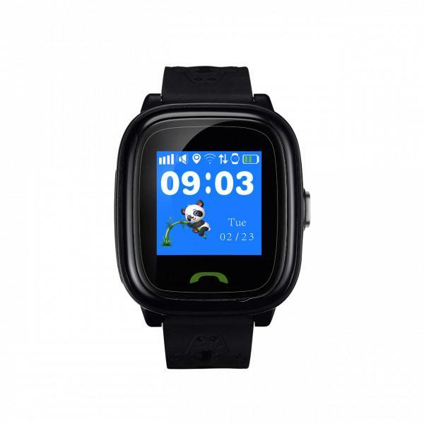 """Часы детские Canyon Kids smartwatch (HH1CNEKW51BB), GSM 900/1800/GPRS, 1.22"""", GPS, IP68, черный"""