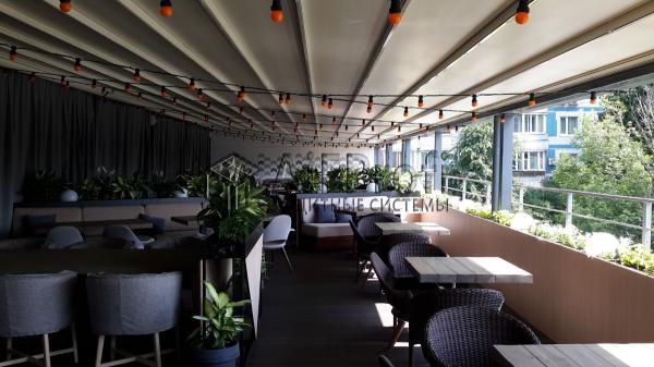Солнцезащитные системы для ресторанов, кафе и загородных домов
